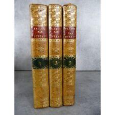 Tacite traduction Dureau de Lamalle Les Annalles 3 volumes bien reliés en veau m