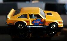 Rare Hot Wheels 'Flat Out' 442 Mattel Vintage 1978 1:64 Yellow