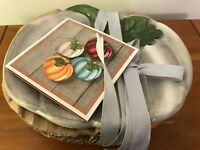 Pumpkin Appetizer Plates Set Of 4 Modern Southern Home Belk's New With Tags