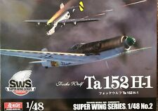 Zoukei Mura Focke Wulf Ta 152H-1 Super Wing Series No. 2 Model Kit in 1:48 Scale