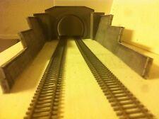 Portale Galleria Tunnel Plastico Ferroviario