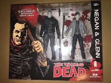 2016 SDCC EXCLUSIVE SKYBOUND THE WALKING DEAD NEGAN & GLENN BLACK & WHITE 2-PACK