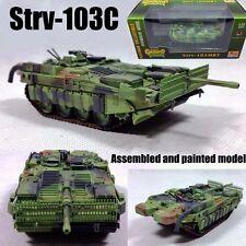 Sweden Strv-103C Stridsvagn unconventional tank 1:72 diecast Easy Model