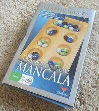 Mancala Solid Wood Folding Game By Cardinal 2007 Family Game  8+ boys & girl B1