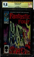 FANTASTIC FOUR 280 CGC 9.8 SS AUTO/ JERRY ORDWAY 1ST APP MALICE MARVEL