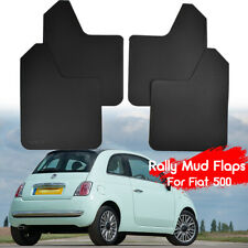 4pcs Wide Racing Mud Flaps For FIAT 500 500C 500L abarth Splash Guards Mudguards