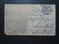 Germany 1914 (Dec) Feldpost Card / Small Corner Damage - Z10615