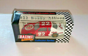 RACING COLLECTABLES COLLECTOR SERIES  #22 BOBBY ALLISON DIE CAST CAR  1:64 SCALE