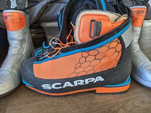 Scarpa Phantom 6000 ice climbing mountaineering boots 46