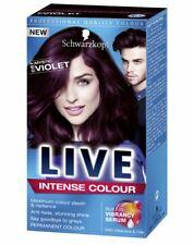 Schwarzkopf LIVE Intense 087 Mystic Violet Pro Permanent Hair Colour Dye x 1
