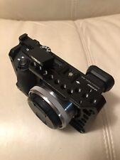 Sony A6500 24.2MP Camera - Kit with 16mm Lens + Fisheye Converter + Smallrig +