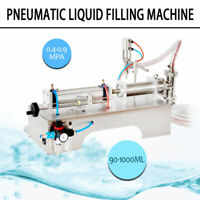 90-1000ml Pneumatic Liquid Filling Machine for Water Perfume Shampoo Oil