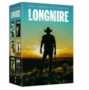 Longmire the Complete Series Collection Seasons 1-6 DVD Box Set New