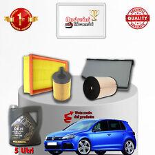 Kit Inspección Filtros Y Aceite VW Golf VI 2.0 Tdi 103KW 140CV De 2008- >