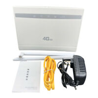 150Mbps Wireless WiFi Router 4G LTE Home Router CPE Dual Antenna SIM Card Slot