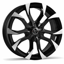 WolfRace Polished Rims with 4 Studs