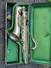 "Nice old Tenor saxophone "" Keilwerth THE NEW KING "" (was played a lot!)"