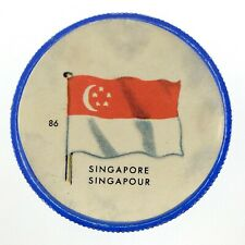 Vintage Singapore Number 86 General Mills Premium Coin Flags Of The World M972