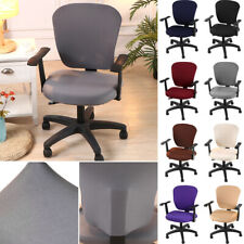 Stretch Office Chair Cover Computer Chair Slipcover Universal Modern Multi Color