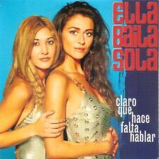 ELLA BAILA SOLA - CLARO QUE HACE FALTA HABLAR CD SINGLE 1 TRACK PROMO SPAIN 2001