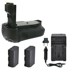 Vivitar Battery Grip + 2 LP-E8 Batteries + Travel Charger for Canon T3I T4I T5I