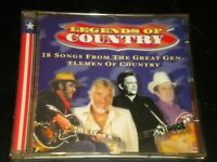 Legends Of Country: 18 Songs From The Great Gentlemen Of Country - CD Album