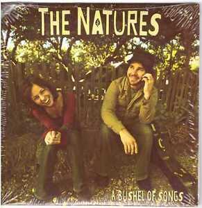 THE NATURES A Bushel of Songs CD EP Obscure Xian w/Natalie Watts, Scott Harrah