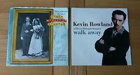 "Kevin Rowland Dexys Job Lot 2x UK 7"" Because Of You Walk Away Pop Rock"