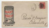 1895 McConnelsville OH color potash/lye ad cover [y4097]