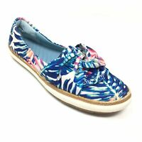 Women's Bare Traps Valley Loafers Shoes Size 9 M Blue Green White Slip On X12