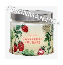 Pot 3 mèches ♥ Framboise rhubarbe ♥ PARTYLITE ► en stock idée cadeau
