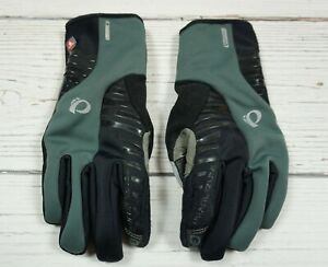 PEARL IZUMI PRIMALOFT SOFTSHELL GLOVES HANDSKEN GEL WINTER CYCLING Warm Size S