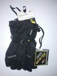 Burton Youth Gore-Tex Gloves - Kids - Small, Black