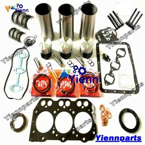 3TNA72 3TNA72UJ Overhaul Rebuild Kit For Yanmar Engine FF165 FF155 F145 Tractor