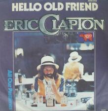 "7"" 1975 KULT IN MINT- ! ERIC CLAPTON : Hello Old Friend"