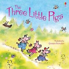 Preschool Classic Story - Usborne Picture Book: THE THREE LITTLE PIGS  - NEW