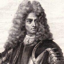 Portrait XIXe Charles Auguste Goyon De Matignon Comte De Gacé Siège Mons Namur
