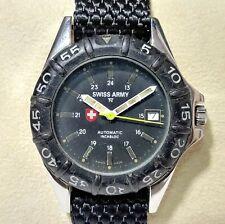 Vintage Swiss Army 42mm 2824-2 Automatic 25 Jewels Men's Wrist Watch IR26