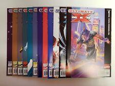 Ultimate X-Men (2001) #1,2,3,4,5,6,7,8,9,10,11,12   Mark Millar Adam Kubert