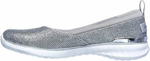 Concept 3 by Skechers Womens Fashion Sneakers in Silver Color, Size 9.5 FNH
