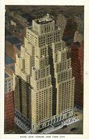 Postcard Hotel New Yorker, New York City, NY