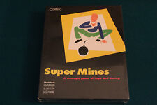 Super Mines by Callisto | Big Box PC Game for Mac [NEW SEALED]