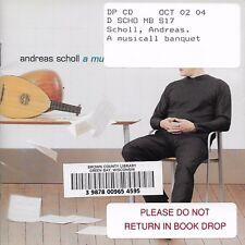 Andreas Scholl: A Musicall Banquet by Edin Karamazov, Markus Markl (Cd Jan-2001)