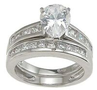 1 CARAT .925 STERLING SILVER DOUBLE ROW RIGHT HAND RING BAND SIZE 5 6 7 8 9
