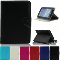 "US For Barnes & Noble NOOK 7"" Tablet PU Leather Stand Folding Case Cover"