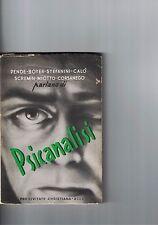 PSICANALISI - 1953 - PENDE BOYER STEFANINI CALò SCREMIN MIOTTO CORSANEGO