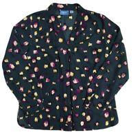 Women's Simply Vera Wang Long Sleeve Shirt Size 16