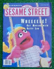 Vintage Sesame Street Magazine-May 1993 WHEE: Play with Big Bird & Pals NO LABEL