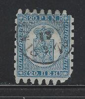 VEGAS - 1866-74 Finland - Sc# 9 - Used - Cat= $57.50 (DG50)
