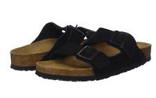 Birkenstock ARIZONA BLACK Suede 951321 SOFT Footbed Regular EU 35